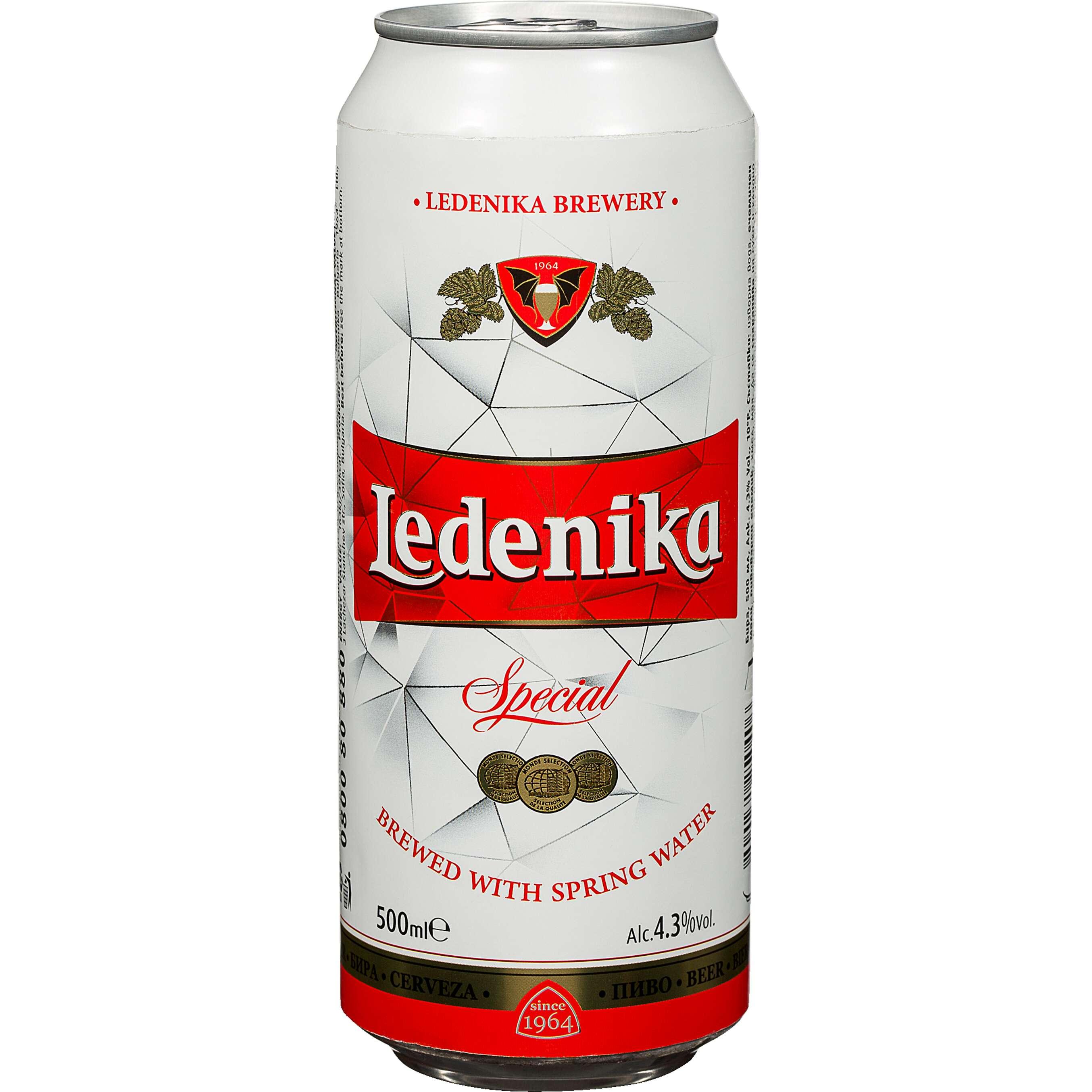 пиво LEDENIKA