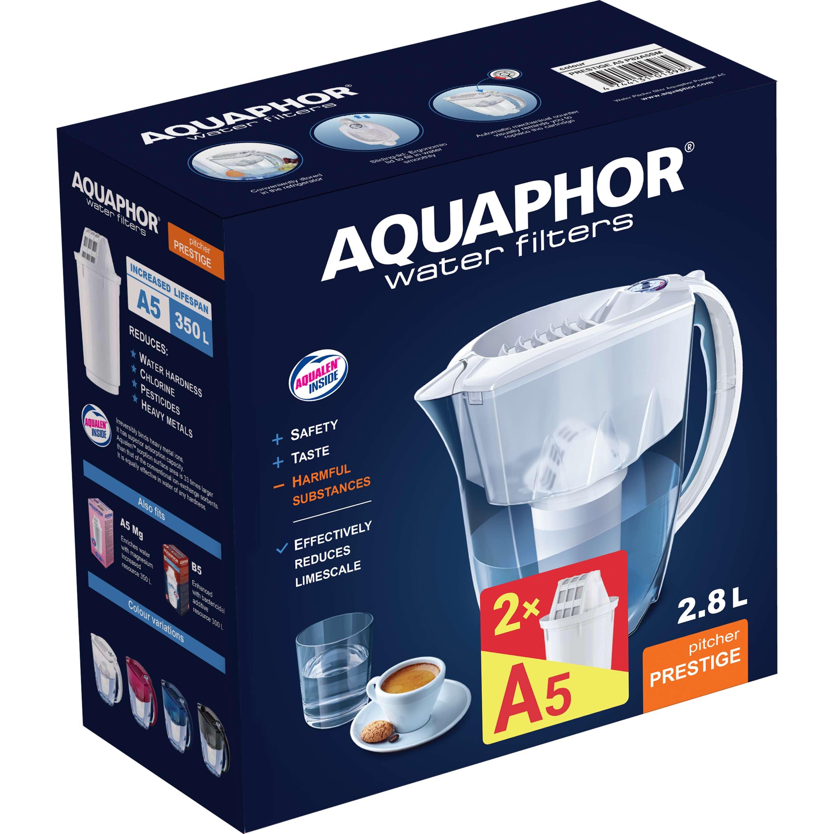 Изображение за продукта AQUAPHOR Кана за филтриране на вода Prestige
