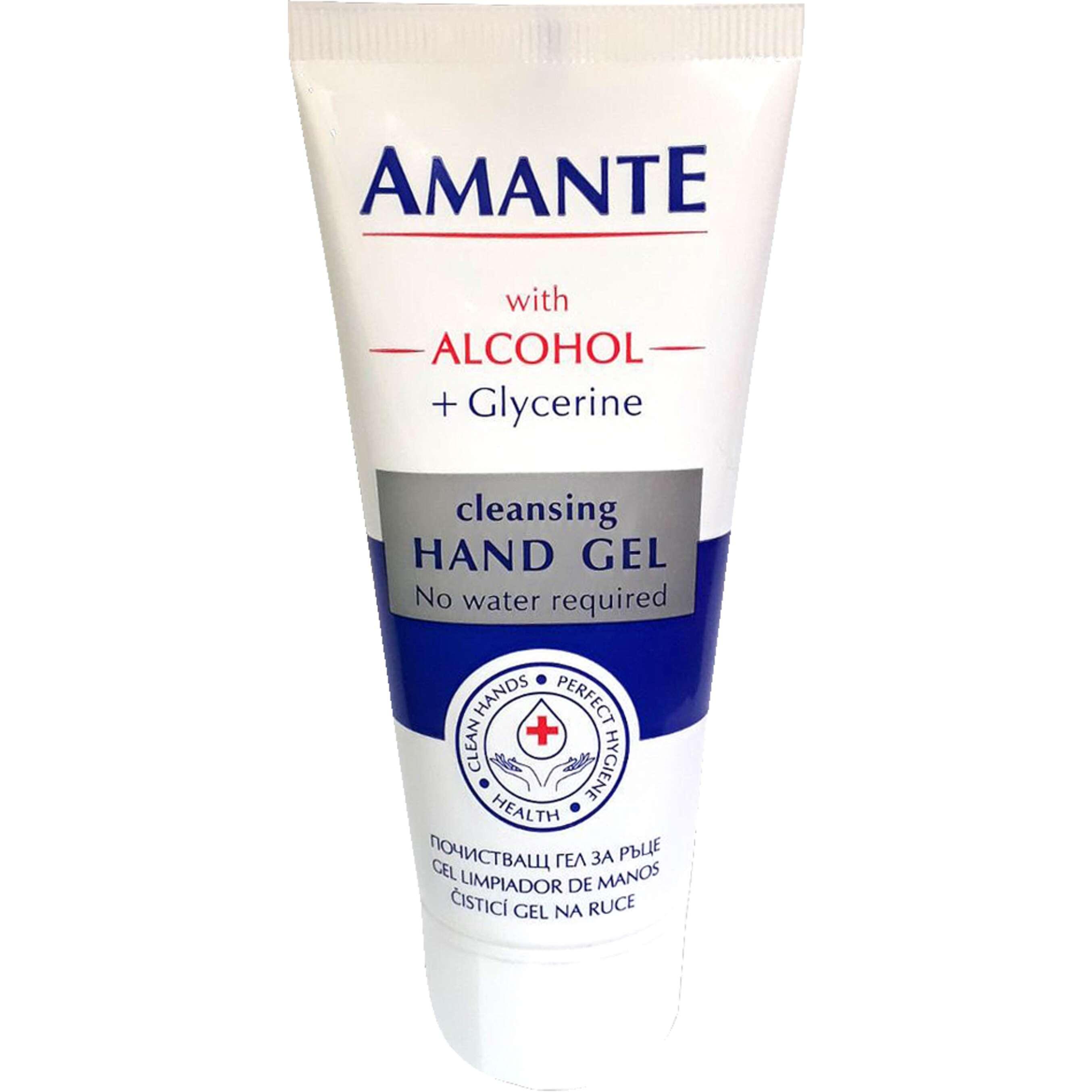 гел за ръце AMANTE