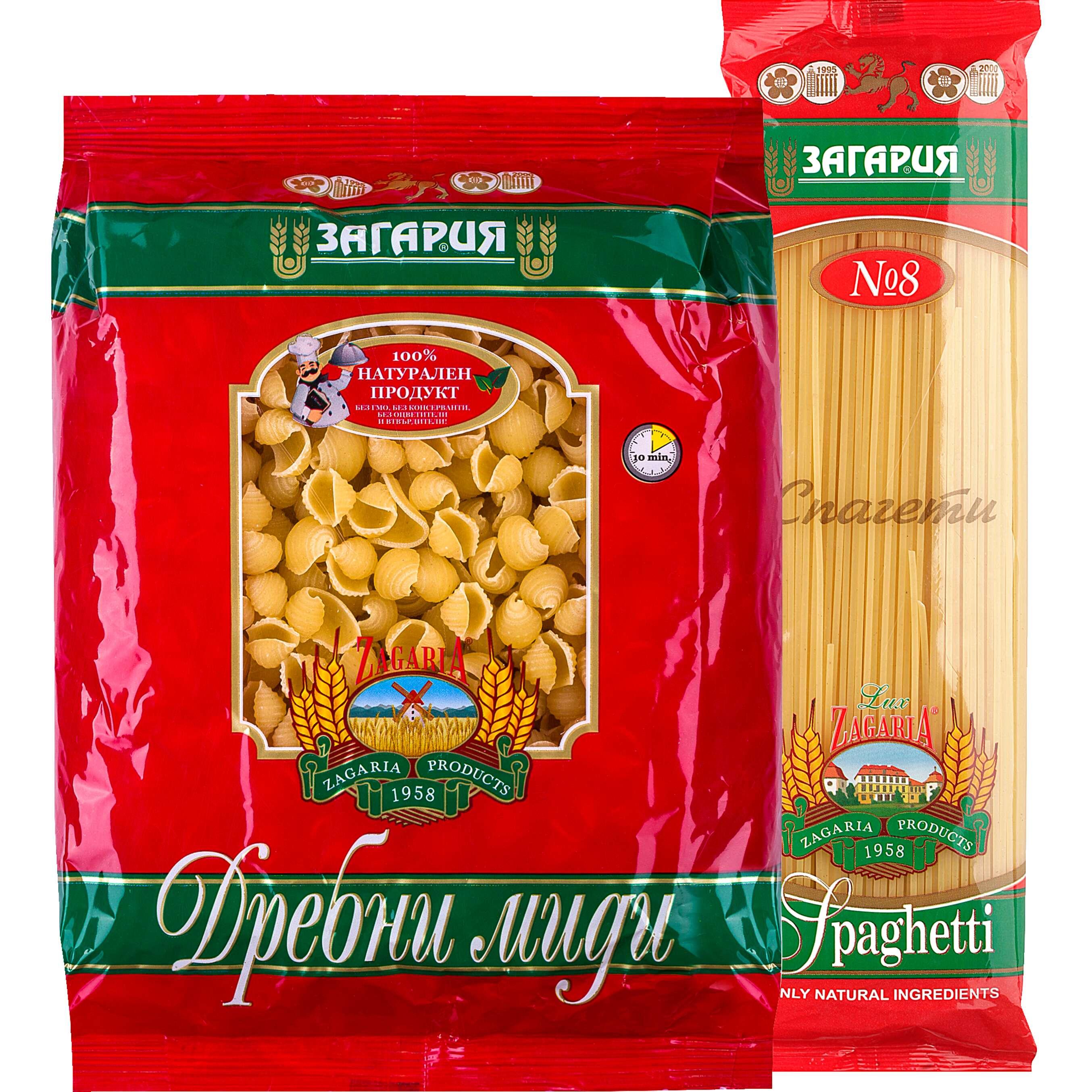 Изображение за продукта Загария Макаронени изделия различни видове