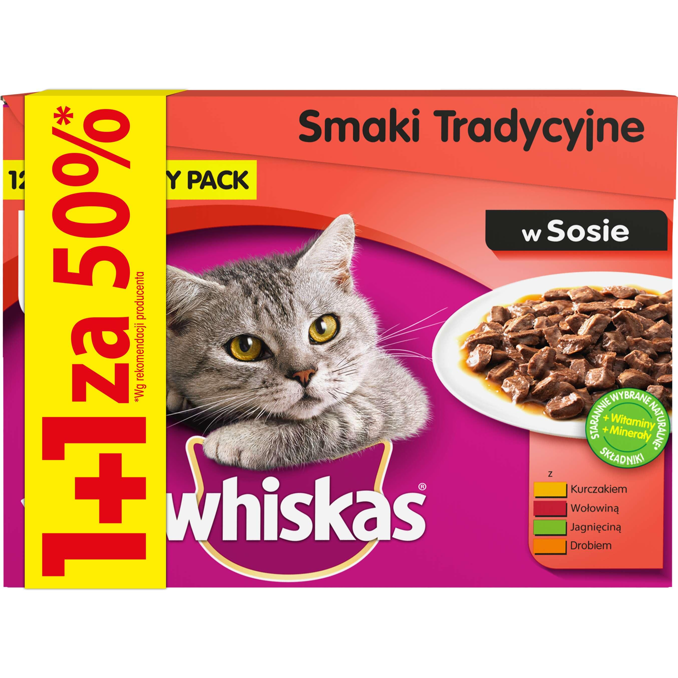 Zdjęcie oferty Whiskas Karma dla kotów