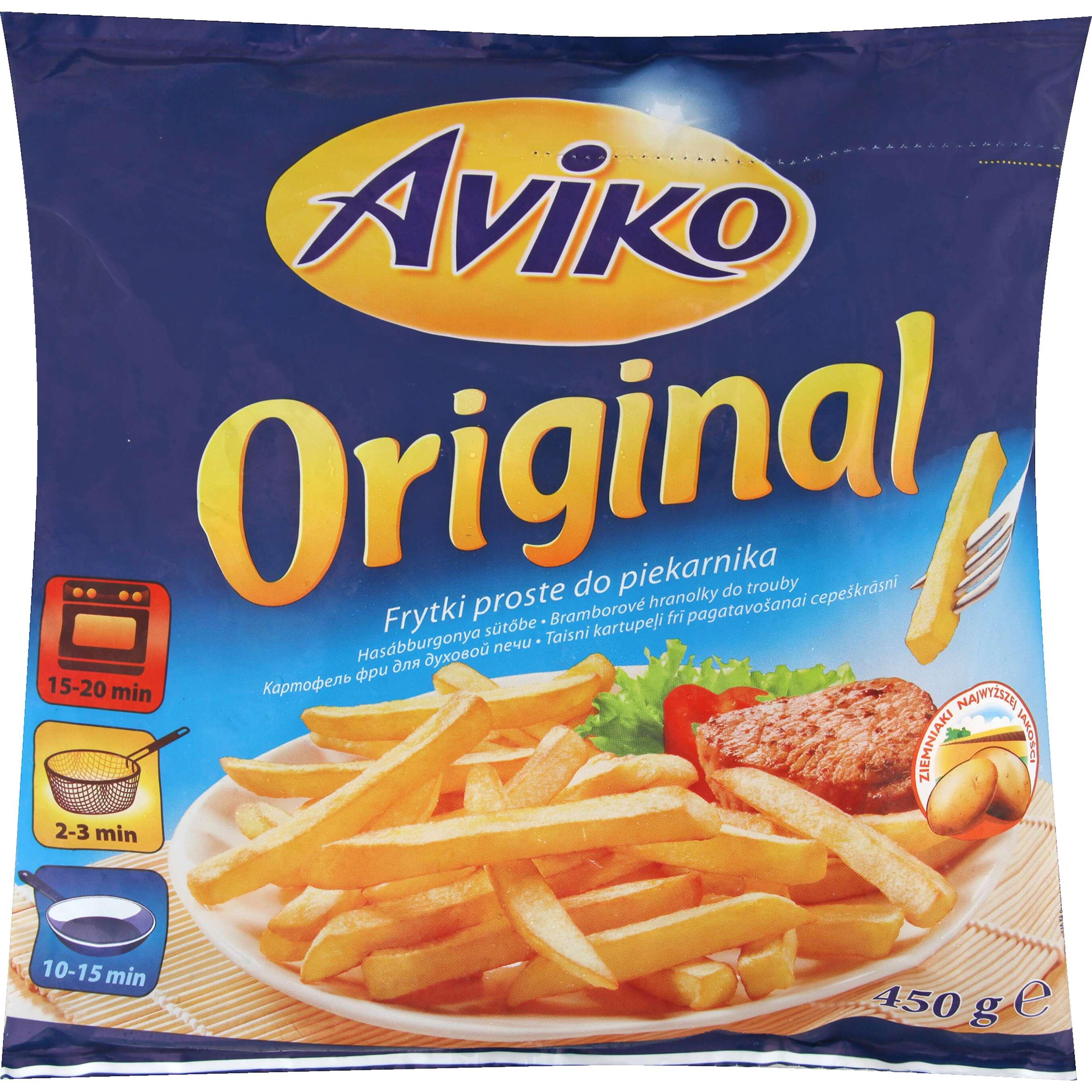Zobrazenie výrobku Aviko Original Zemiakové hranolčeky