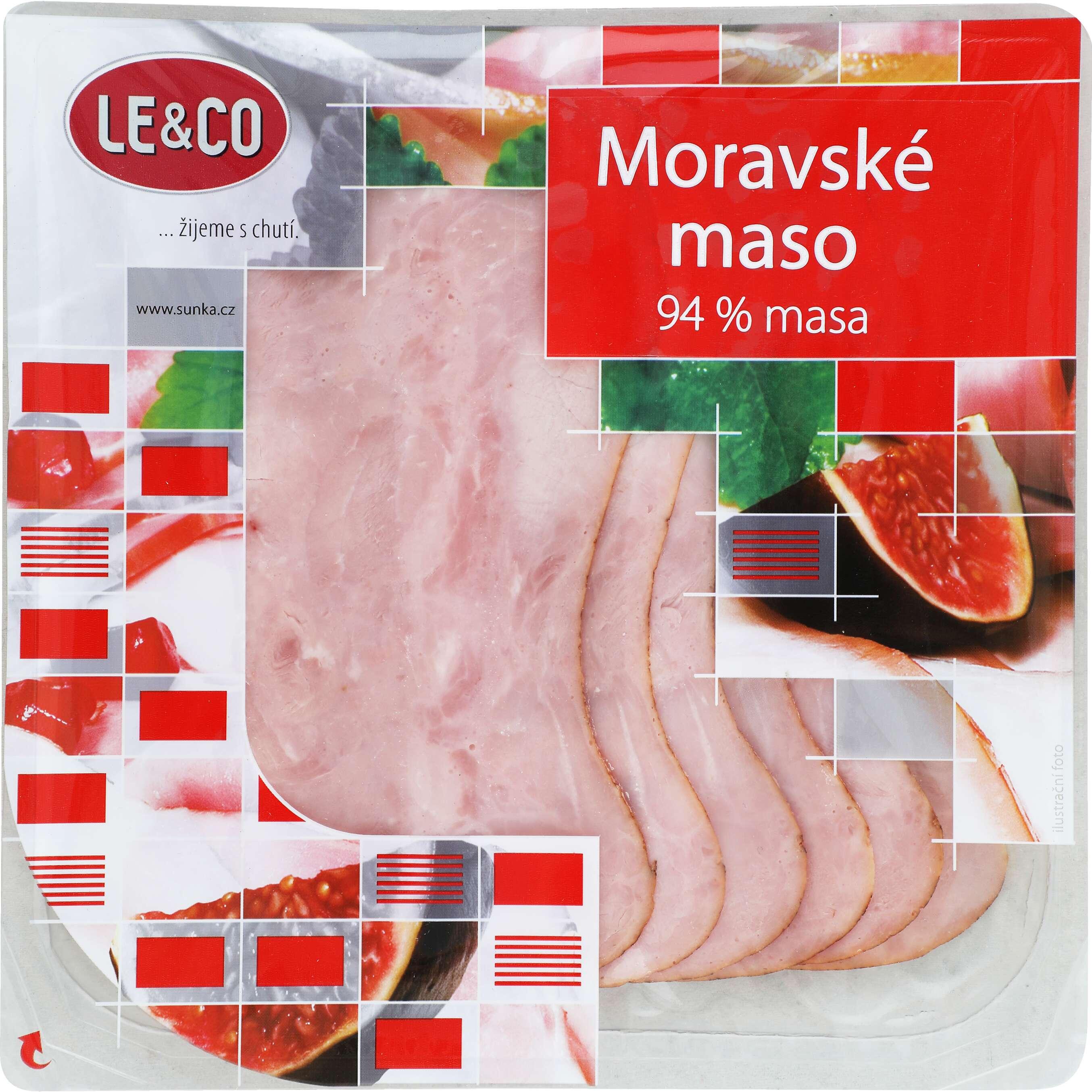 Zobrazenie výrobku LE & CO Moravské mäso